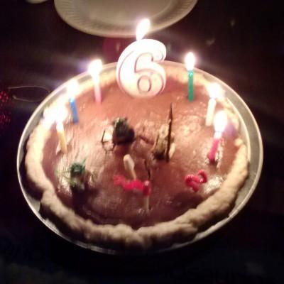 six pie