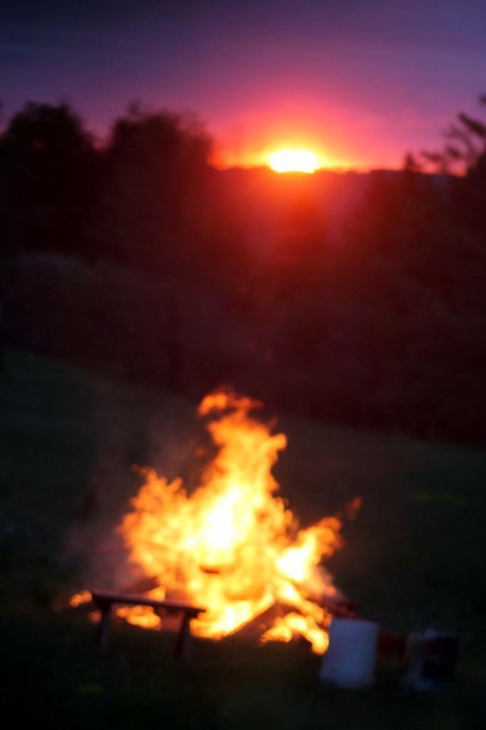 Picture 1085 fire sun