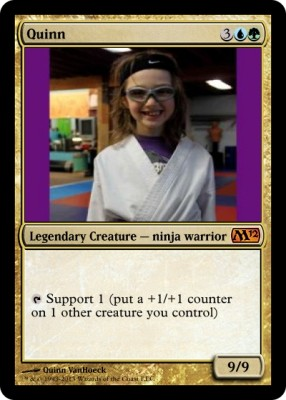 quinn magic card purple belt