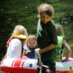 q catch raft green IMG_8079
