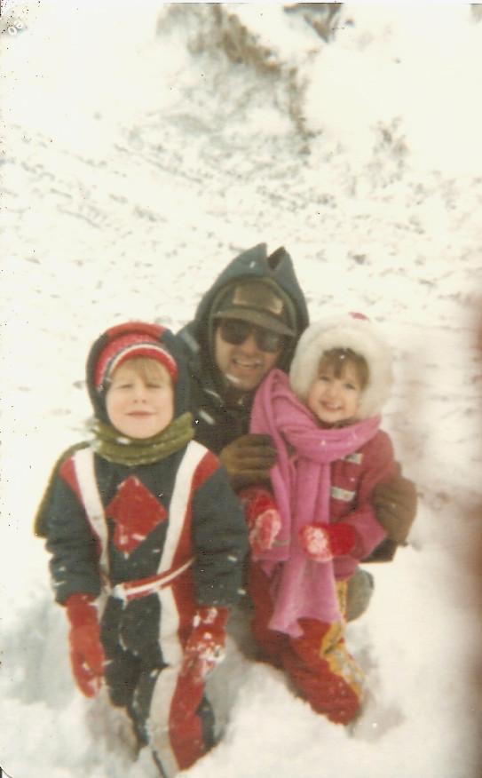dad-snow